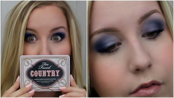 Get The Look || Too Faced Country Palette || Fashion Look
