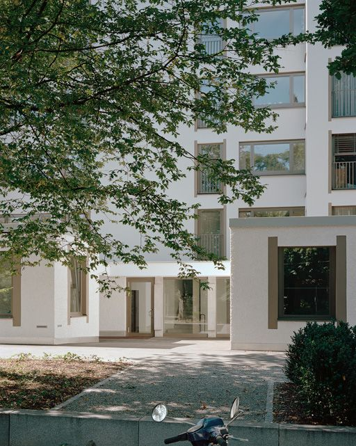 """subtilitas: """"Peter Märkli - Les Hiboux/Im Gut cooperative housing, Zurich 2012. Via, photos © Walter Mair. """"Im Gut's apartments are relatively conventional, but what's more striking about it is the..."""
