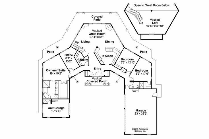 Georgian House Plan - Myersdale 10-453 - Floor Plan | Florida Home ...