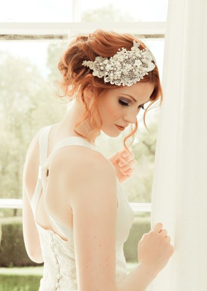 Vintage Wedding Day Makeup : 1000+ ideas about Redhead Bride on Pinterest Wedding ...