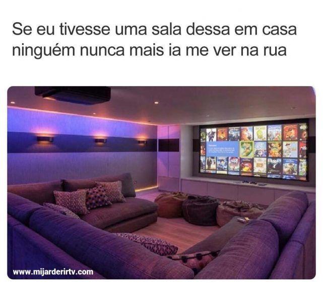 Imagens Engracadas Para Whatsapp E Facebook Pra Voce Rir Muito Memes Brasileiros Fotos Engra Home Theater Decor Home Cinema Room At Home Movie Theater