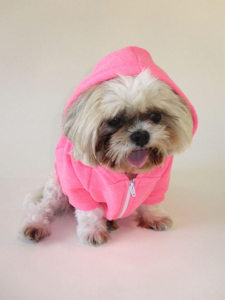 PUPPY AT HEART - Dog's Fleece Zip Hoodie | Animals ...