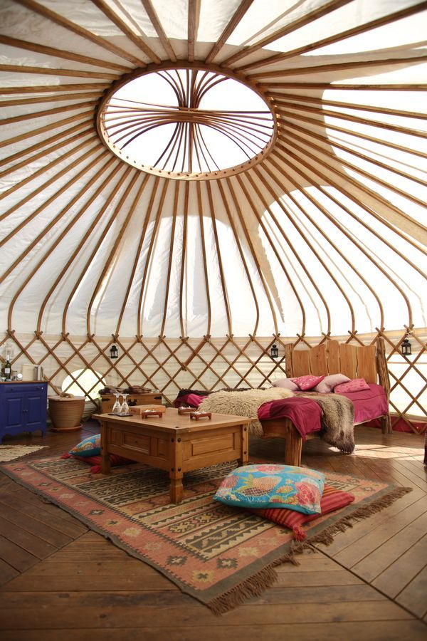 #GLAMPING IN #WALES // Welcome to Eco Retreats #Yurts in #Powys http://coolstays.com/eco-retreats-yurts Sleeps 4-6 per yurt from just £89/night! Visit Wales
