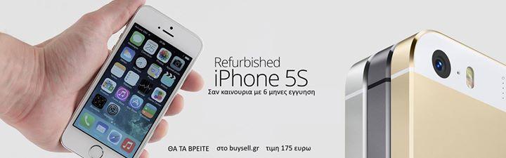 APPLE IPHONE 5S ΜΕΤΑΧΕΙΡΙΣΜΕΝΑ IPHONE 5S 175 ΕΥΡΩ  Μεταχειρισμενα κινητα apple iphone 5s σε αριστη κατασταση σαν καινουρια  με τα παρελκομενα τους και εγγυηση 6 μηνες  buysell.gr αγοραζω πουλαω ανταλλασω κινητα τηλεφωνα   τηλ 2105242992 2103312256 ΑΓΟΡΑΖΩ ΤΟ ΚΙΝHΤΟ ΣΟΥ ΑΠΟΛΥΤΩΣ ΜΕΤΡΗΤΟΙΣ ΣΕ ΤΙΜEΣ ΠΟΥ ΔΕΝ ΘΑ ΒΡΕΙΤΕ ΠΟΥΘΕΝΑ ΑΛΛΟΥ  ΕΧΟΥΜΕ TΗ ΜΕΓΑΛΥΤΕΡΗ ΓΚΑΜΑ ΣΕ ΜΕΤΑΧΕΙΡΙΣΜΕΝΑ ΚΙΝΗΤΑ ΠΟΥ ΔΕΝ ΘΑ ΒΡΕΙΤΕ ΠΟΥΘΕΝΑ ΑΛΛΟΥ ΚΑΙ ΜΕ ΕΓΓΥΗΣΗ ΜΕΧΡΙ KAI 2 ΧΡΟΝΙA  ΛΕΙΤΟΥΡΓΕΙ ΜΟΝΟ ΤΟ ΚΑΤΑΣΤΗΜΑ που ειναι ΑΚΡΙΒΩΣ…