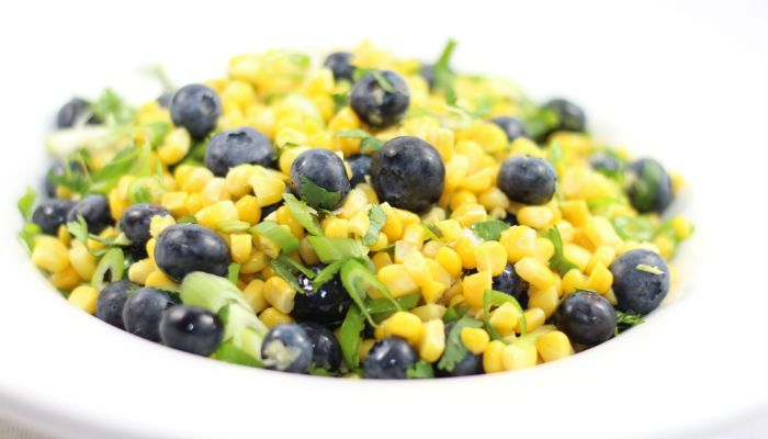 Corn and Blueberry Salad | Veggies!!!! Sides and Salads | Pinterest