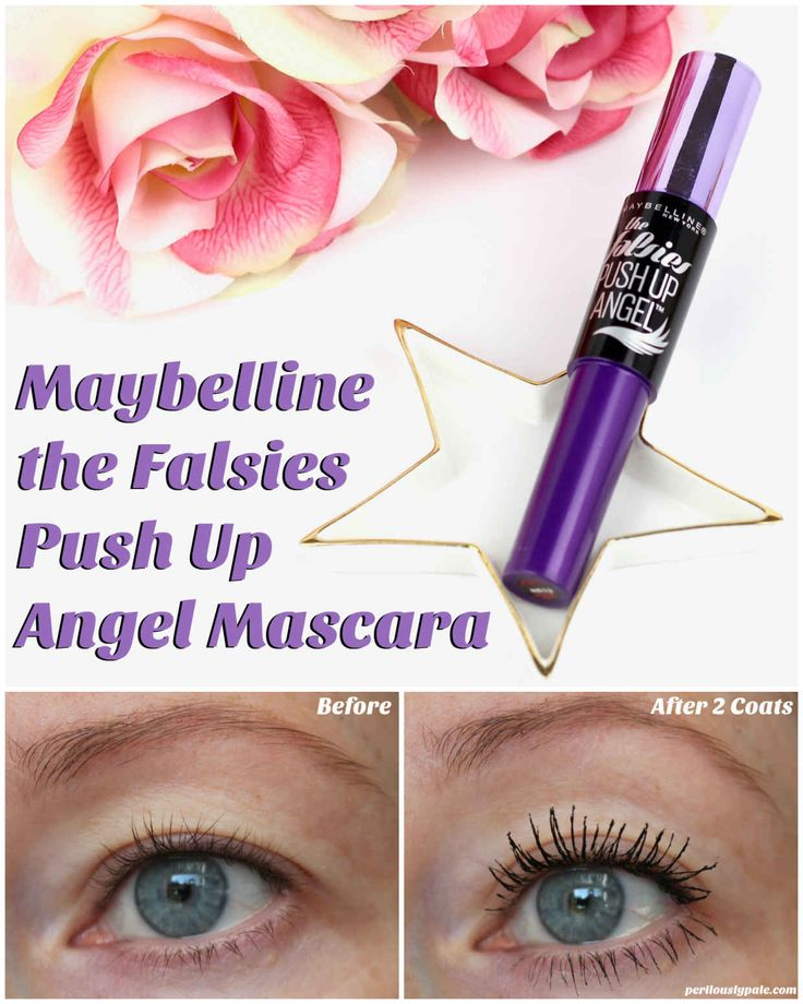 Maybelline The Falsies Push Up Angel Mascara Review / drugstore makeup, cheap makeup, budget makeup, drugstore mascara, cheap mascara.