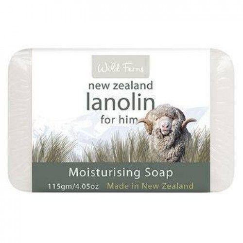 Wild Ferns Lanolin For Him Moisturising Soap