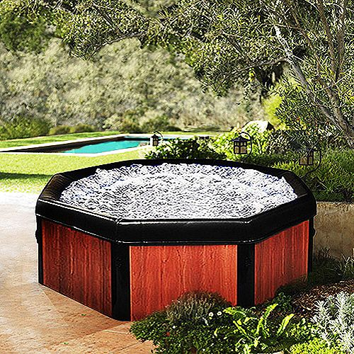 SPA IN A BOX!!!!    Best idea ever, the surprisingly high rated 5 person hot tub for $899