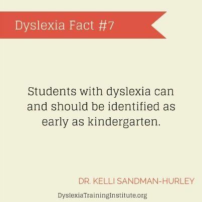Dyslexia Fact #7