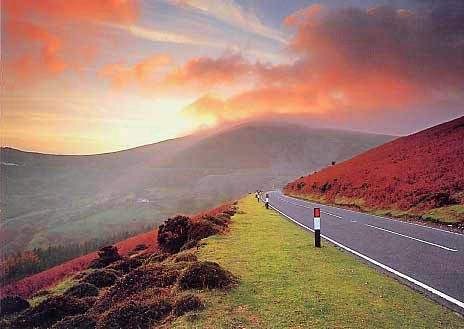 Horseshoe Pass Wales