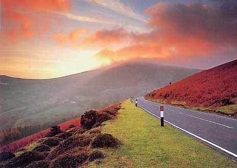 Horseshoe Pass Wales
