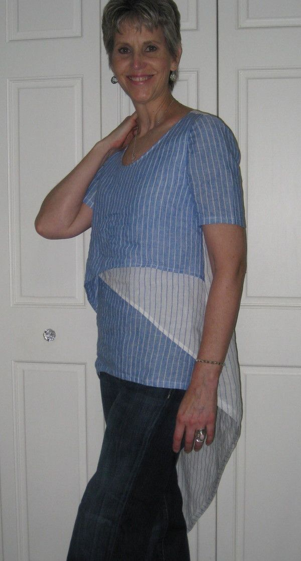Patty E's version, B6127; Sally Phillips has done a version in diagonal stripes for 1st and 3rd layer, 2nd layer is vertical stripes