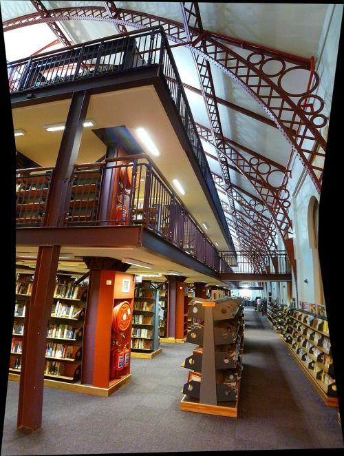 The Central Library of Cape Town, South Africa