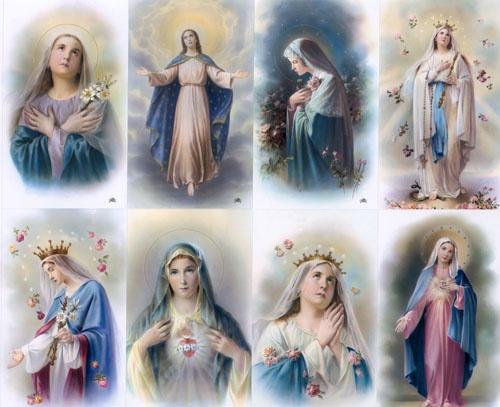 Prayer CardsReligious Art, Folk Art, Hail Mary, Artesanato Religiosos, Icons Idol, Holy Cards, Prayer Cards, Salve Regina, Cards Art