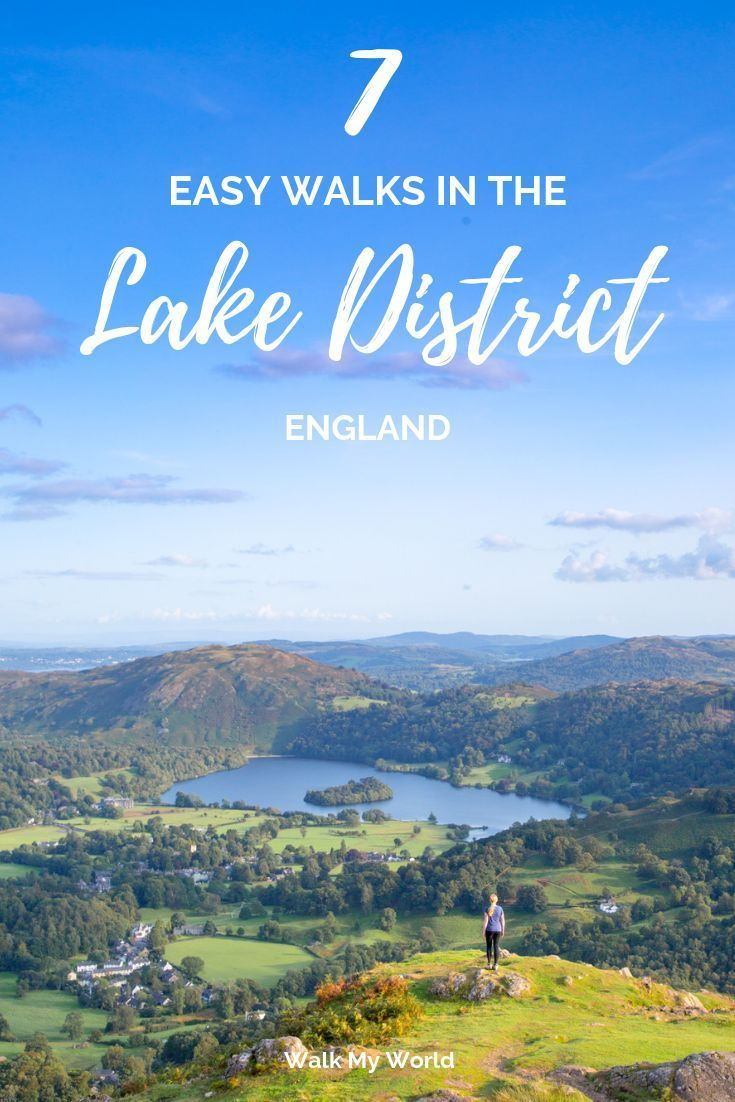 Seven Easy Walks in the Lake District, England