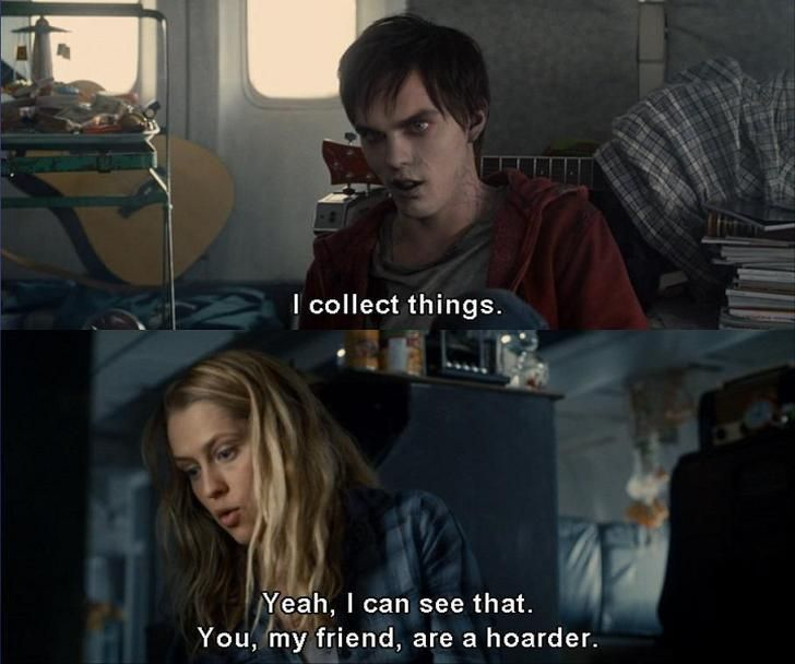 Warm Bodies, this is not only a good movie but I think I'm in love with the actress pheeeew she's a beauty queen