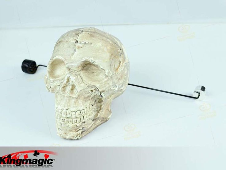 Skull Floating Magic Tricks Stage Magic Props Comedy Trick for professional magician