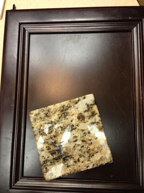 Cabinets and Countertop Selection  Santa Cecilia Granite