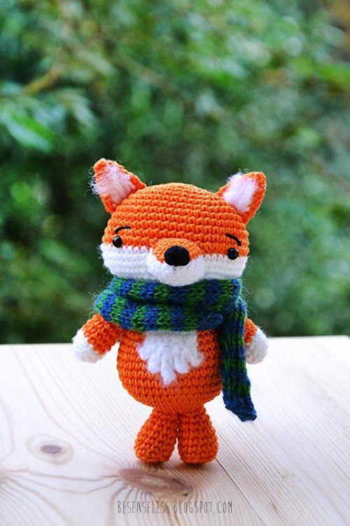 ... Amigurumi Fox on Pinterest | Fantastic mr fox, Toys and Free crochet
