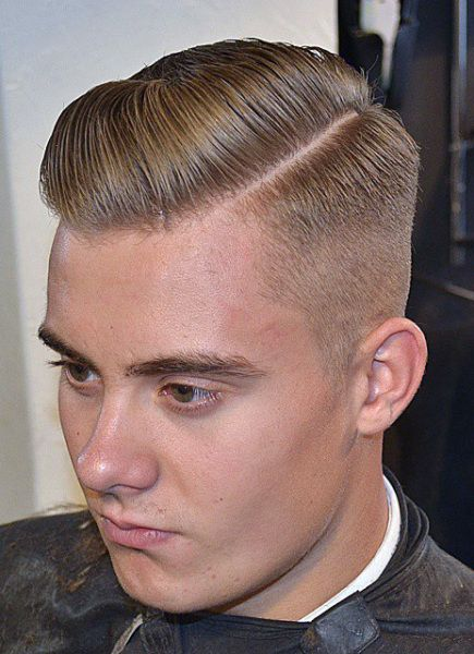 hair styles for boys side part barbershops haircuts mens hair 1891
