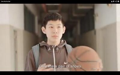 Nike lança comercial na China com o Astro do Basquetebol Kone Bryant.