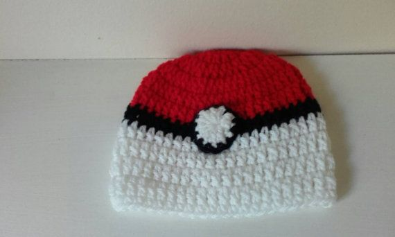 Check out this item in my Etsy shop https://www.etsy.com/uk/listing/451414422/men-pokeball-hat-crochet-pokeball-hat