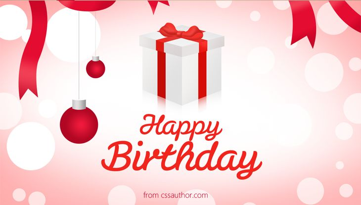 Happy Birthday Greetings PSD Greetings Card PSD – Birthday Wish Template