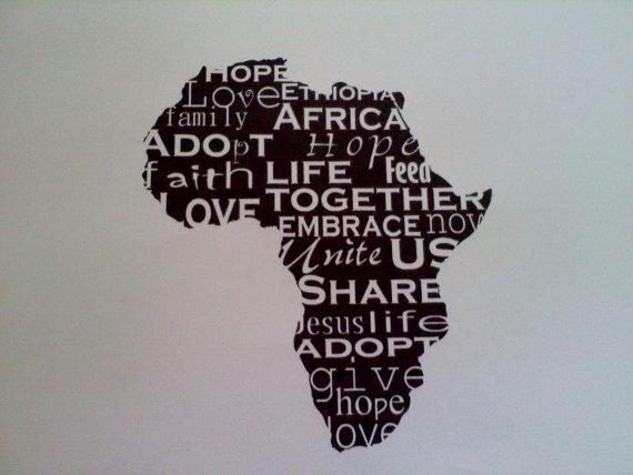 Ethiopia Vinyl Art  Adoption