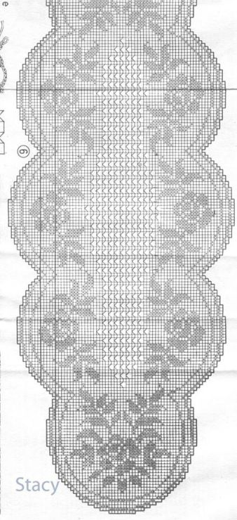 Filet crochet chart…. Gallery.ru / Фото #70 - 1α - ergoxeiro