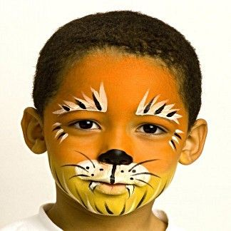 Tiger - Animals Face Paint Ideas - How to Face Paint - Snazaroo