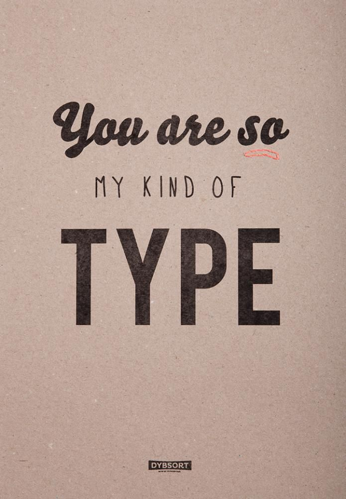 Your are so my kind of type - texture and thread