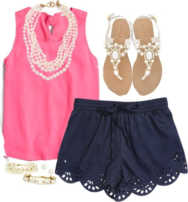 Bubblegum and Navy