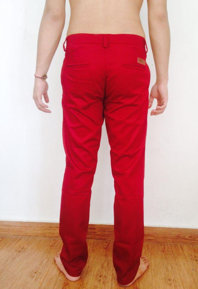 Freya chino pants maroon. more info: +628982377867, @freyabali