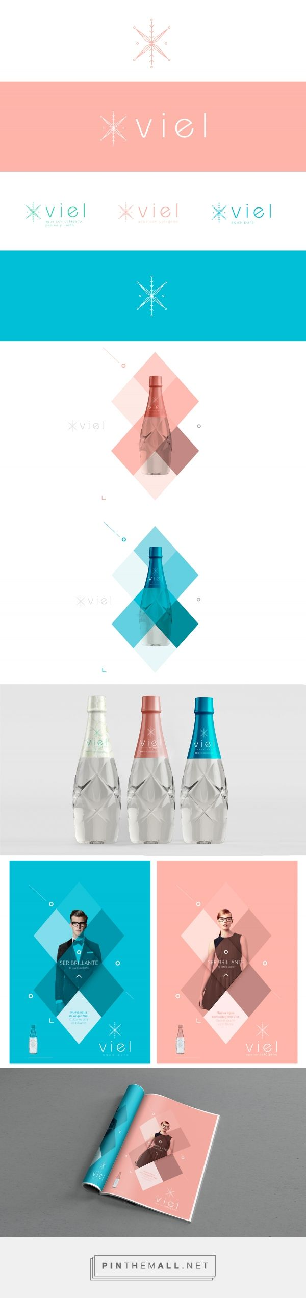 VIEL Hydrolyzed Collagen Water Packaging and Branding by Carlos Montoya | Fivestar Branding Agency – Design and Branding Agency & Curated Inspiration Gallery