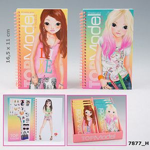 Top Model Pocket Colouring Books - 7877_G - 2 To Choose From by Depesche | eBay