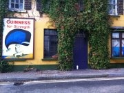 Guinness Gives You Strength!  Kinsale, Ireland.  By Emily Flannes Johnson
