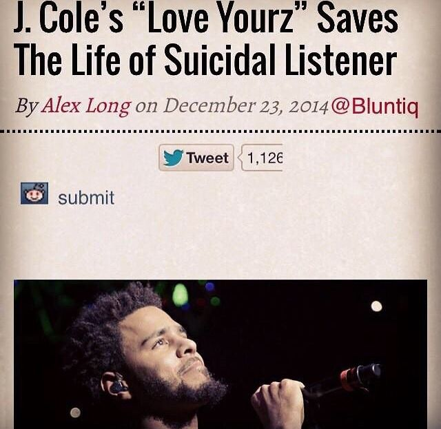 """J Cole Song Quotes: Love Yourz Lyrics """"There's Beauty In The Struggle"""