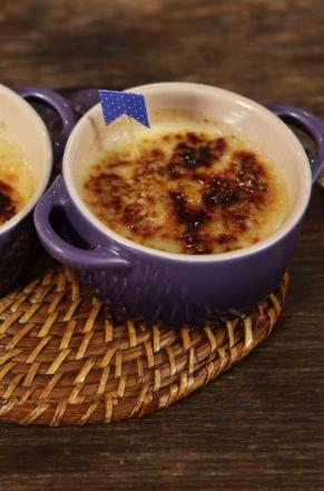 Canjica Brûlée - a combinação perfeita de dois clássicos: a nossa canjica (ou mungunzá) com o creme brûlée