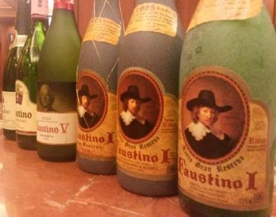 Faustino Riojas from 1971,1995, 2001 tasted in Mumbai