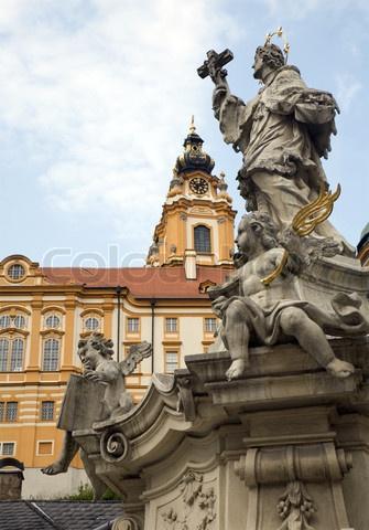 St. John of Nepomuk Monument, Warsaw, Poland