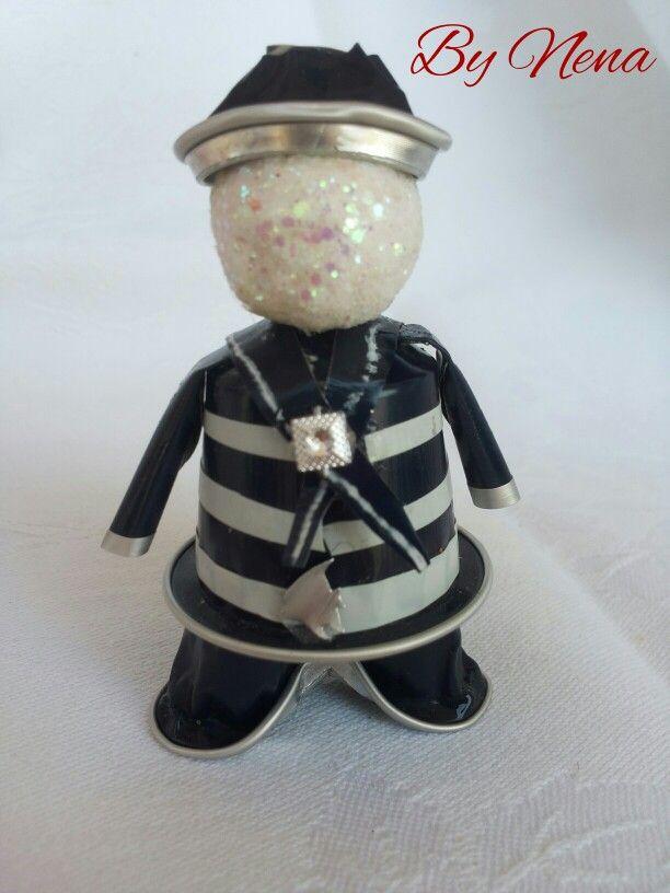 Il vecchio marinaio fatto con capsule Nespresso