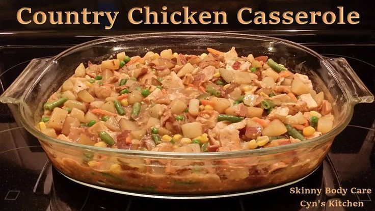 ... Recipes to try | Pinterest | Chicken Casserole, Casseroles and Country