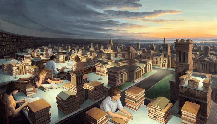 rob gonsalves, towers of knowledge