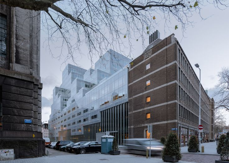 OMA completed its pixellated Timmerhuis complex in Rotterdam last month. Photograph by Sebastian van Damme