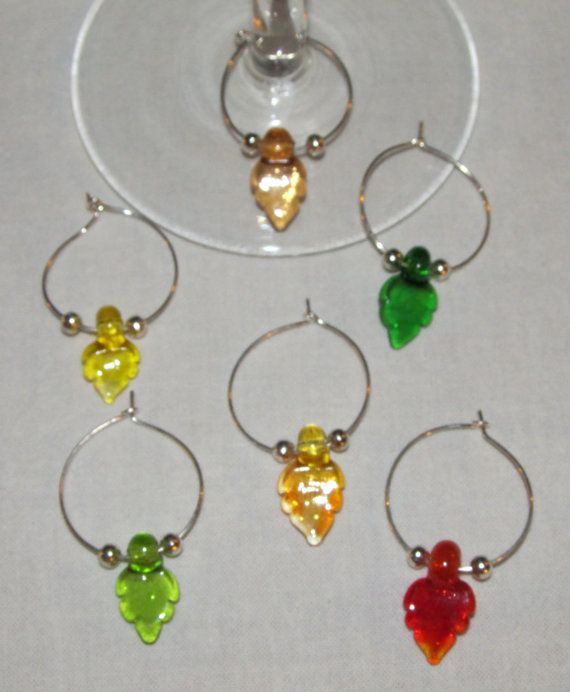 1000 Images About Wine Glass Charms On Pinterest