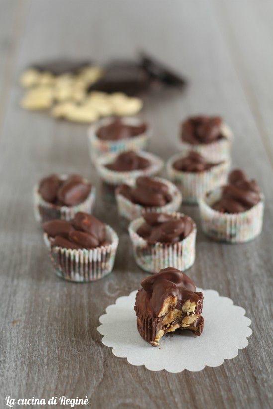 Mandorle ricoperte al cioccolato