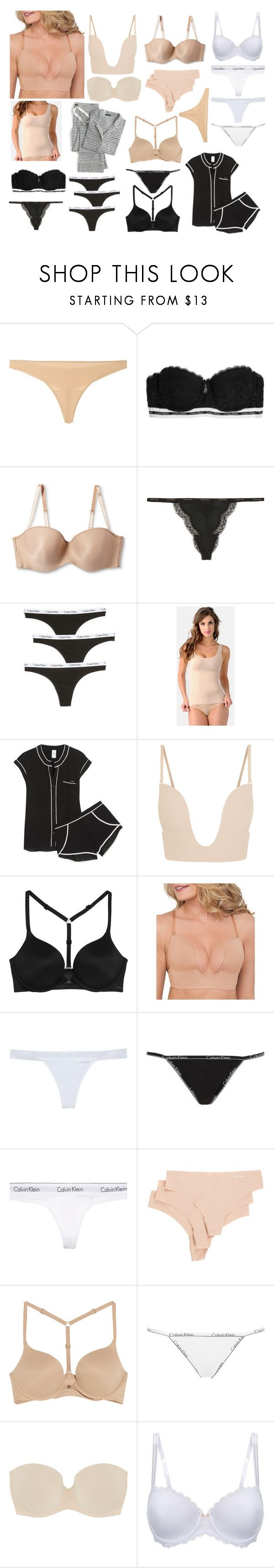 """Sleeping Cannes"" by claudia-regina-vieira-correa ❤ liked on Polyvore featuring La Perla, Calvin Klein Underwear, Maidenform, Belly Bandit, Fashion Forms, Chantelle, J.Crew and plus size clothing"