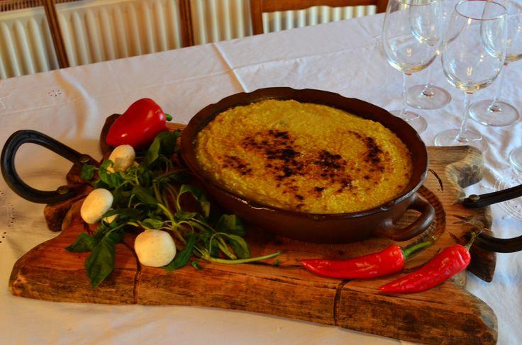 Pastel de Choclo,Plato típico de Chile.