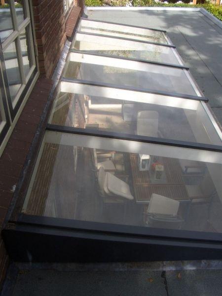 Dakraam veranda
