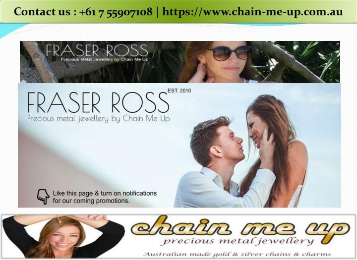 When you buy jewellery from Fraser Ross you can rest assured knowing you can return anything within 7 days of purchase for a full refund, no questions asked. Or you can swap your purchase for something else! https://www.chain-me-up.com.au/